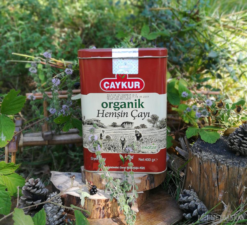 Çaykur Organik Hemşin Çayı - 400Gr Teneke Kutu